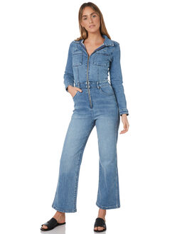 BLUE HIGHS WOMENS CLOTHING WRANGLER PLAYSUITS + OVERALLS - W-951366-KL9