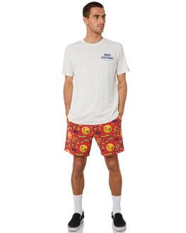 VINTAGE WHITE MENS CLOTHING DEUS EX MACHINA TEES - DMA201565EVNTWH