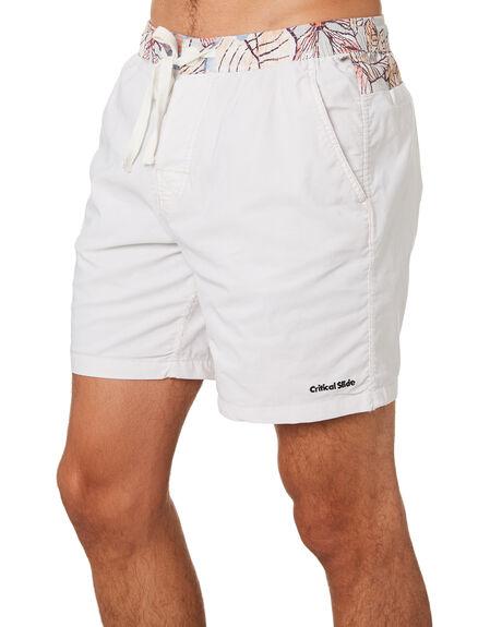BLANC MENS CLOTHING THE CRITICAL SLIDE SOCIETY BOARDSHORTS - BS1870BLANC