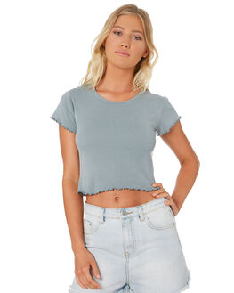 SEA GREEN WOMENS CLOTHING ALL ABOUT EVE TEES - 6401012GRN