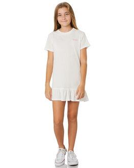 BRIGHT WHITE KIDS GIRLS RUSTY DRESSES + PLAYSUITS - DRG0002BTW
