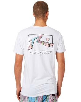 WHITE MENS CLOTHING RUSTY TEES - TTM2090WHT