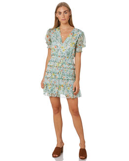 SUNNY FLORAL WOMENS CLOTHING THE EAST ORDER DRESSES - EO190341D-FSNYFL
