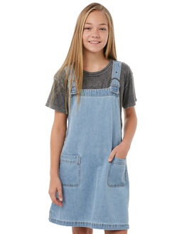 VINTAGE BLUE KIDS GIRLS BILLABONG DRESSES - 5585472BLU