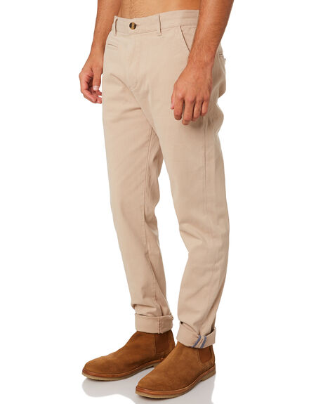 KHAKI MENS CLOTHING ACADEMY BRAND PANTS - 19W109KHA