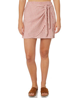 RED CLAY WOMENS CLOTHING BILLABONG SKIRTS - 6595532REY