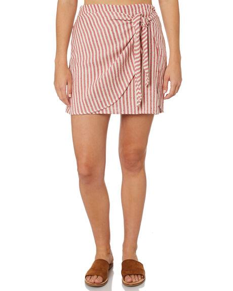 RED CLAY WOMENS CLOTHING BILLABONG SKIRTS - 6595532REY
