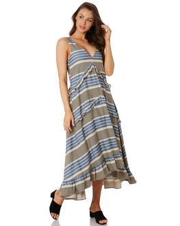 CELESTE STRIPE WOMENS CLOTHING SANCIA DRESSES - 889A_CELE