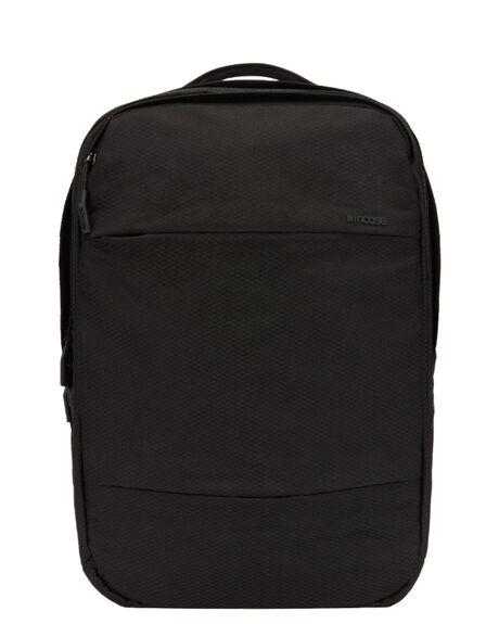 BLACK MENS ACCESSORIES INCASE BAGS + BACKPACKS - INCO100357-BLK