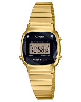 GOLD WOMENS ACCESSORIES CASIO WATCHES - LA670WGAD-1DFGLD