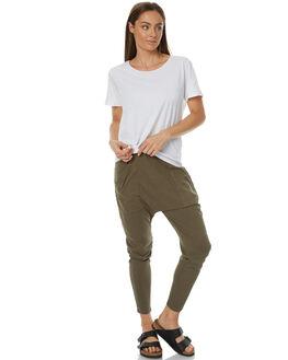WASHED KHAKI WOMENS CLOTHING ALL ABOUT EVE PANTS - 6493033KHAKI