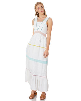 WHITE WOMENS CLOTHING TIGERLILY DRESSES - T305417WHT