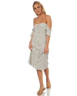 STRIPE WOMENS CLOTHING SWELL DRESSES - S8171452STRIP