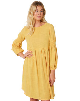 GOLD WOMENS CLOTHING SAINT HELENA DRESSES - SHS19223GGOLD