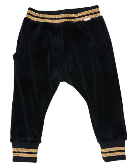 WASHED BLACK KIDS GIRLS MUNSTER KIDS PANTS - MM201TR04KWSHBK