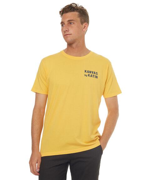 GOLD MENS CLOTHING KATIN TEES - TSSSWOR17GLD