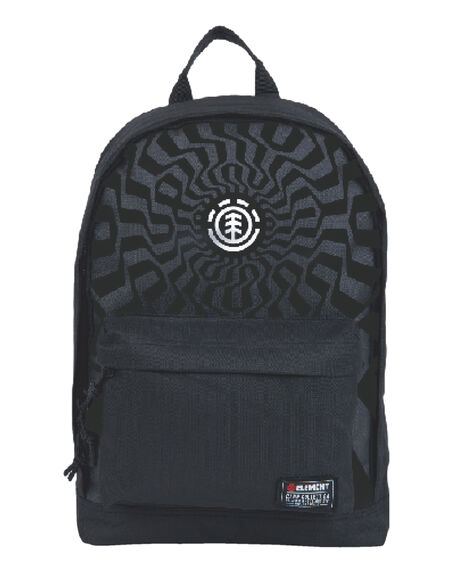 BLACK KIDS BOYS ELEMENT BAGS + BACKPACKS - EL-102481-BLK