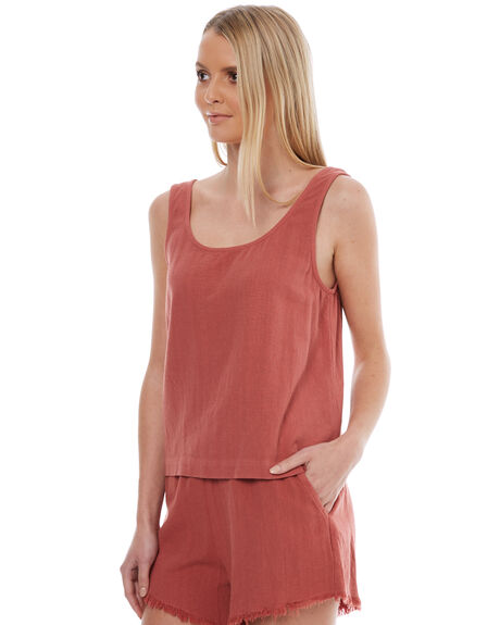 ROUGE WOMENS CLOTHING SWELL SINGLETS - S8174274ROUGE
