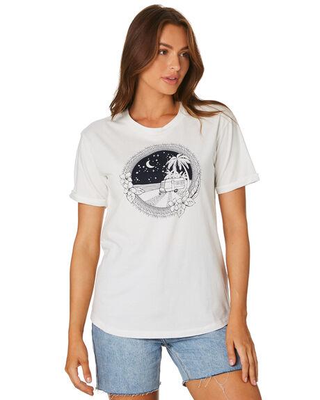 WHITE WOMENS CLOTHING SWELL TEES - S8202004WHI