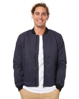 NAVY MENS CLOTHING ACADEMY BRAND JACKETS - 17W234NVY