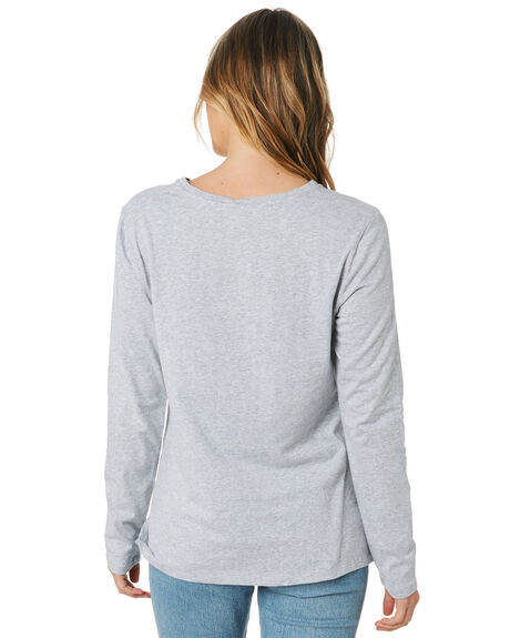 GREY MARLE WOMENS CLOTHING SILENT THEORY TEES - 6033065GRM