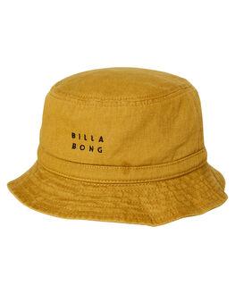 VINTAGE GOLD MENS ACCESSORIES BILLABONG HEADWEAR - 9695340VGLD