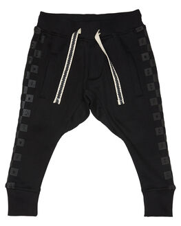 SOFT BLACK KIDS BOYS MUNSTER KIDS PANTS - MK181TR05SBLK