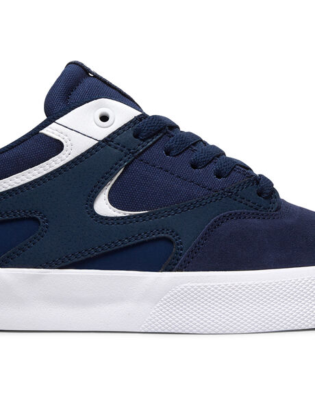 NAVY/WHITE MENS FOOTWEAR DC SHOES SNEAKERS - ADYS300576-NWH
