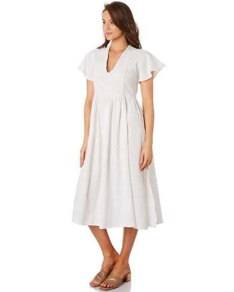 WHITE WOMENS CLOTHING RUE STIIC DRESSES - RWS-19-49-1WHT