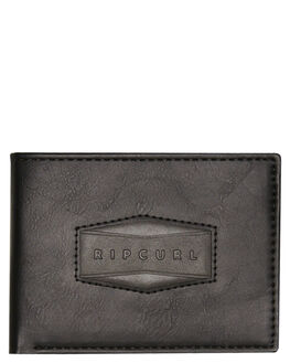 BLACK MENS ACCESSORIES RIP CURL WALLETS - BWULV10090