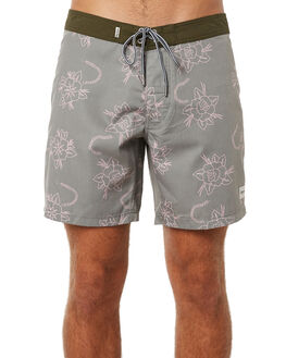OLIVE MENS CLOTHING RHYTHM BOARDSHORTS - JUL18M-TR02OLI