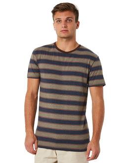 DUSTY OLIVE MENS CLOTHING RHYTHM TEES - JUL18M-CT03OLI
