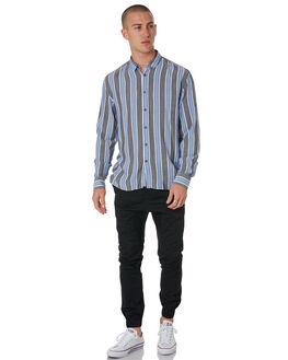 BLACK COBALT MENS CLOTHING ZANEROBE SHIRTS - 315-METBLK