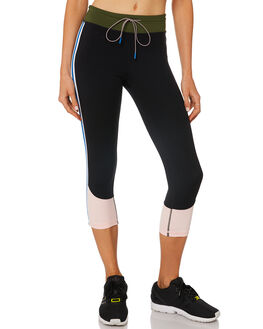 BLACK MULTI WOMENS CLOTHING THE UPSIDE ACTIVEWEAR - UPSW418025MULTI