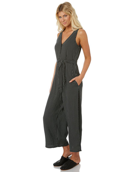 BLACK WOMENS CLOTHING THE HIDDEN WAY PLAYSUITS + OVERALLS - H8188447BLACK