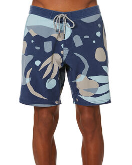NAVY MENS CLOTHING KATIN BOARDSHORTS - TRHEW06NVY