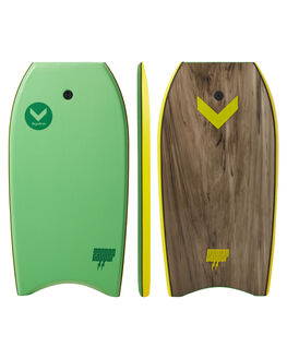 GREEN YELLOW BOARDSPORTS SURF HYDRO BODYBOARDS - ZB18-HYD-042GRNYL