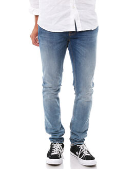 TRUE COLD BLUE MENS CLOTHING NUDIE JEANS CO JEANS - 112648TCBLU