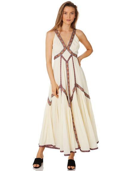 WHITE WOMENS CLOTHING TIGERLILY DRESSES - T393403WHT