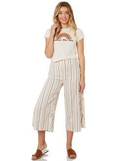 MULTI WOMENS CLOTHING BILLABONG PANTS - 6595401MUL