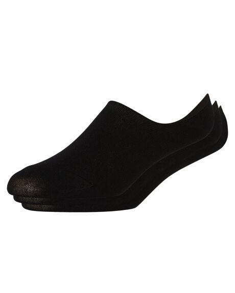 BLACK MENS CLOTHING STUSSY SOCKS + UNDERWEAR - ST765022BLK