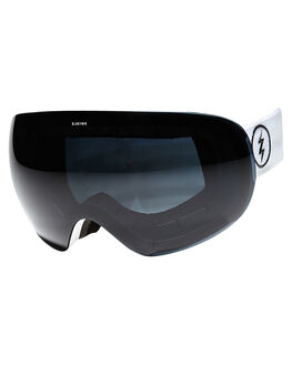 GLOSS WHITE SNOW ACCESSORIES ELECTRIC GOGGLES - EG1216106JBLK
