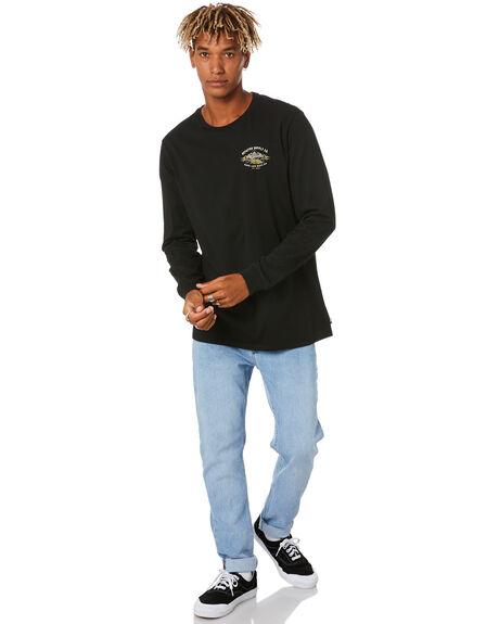 BLACK MENS CLOTHING DEPACTUS TEES - D5204101BLACK