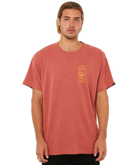 HENNA MENS CLOTHING DEUS EX MACHINA TEES - DMA81195HENNA