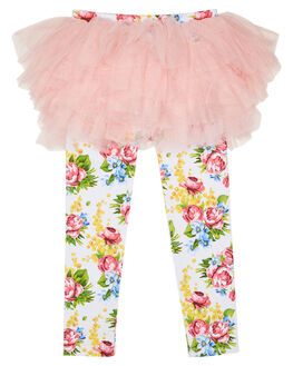 PALE GREY KIDS TODDLER GIRLS ROCK YOUR KID PANTS - TGL194-WMPGRY