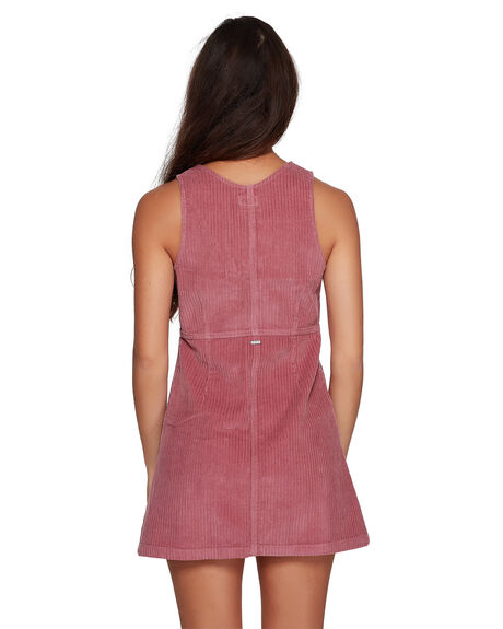 PLUM BERRY WOMENS CLOTHING RVCA DRESSES - RV-R207760-PBY