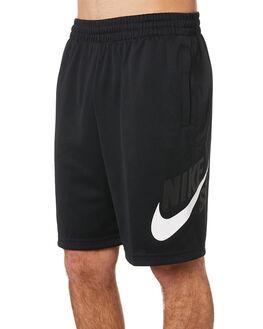 BLACK WHITE MENS CLOTHING NIKE SHORTS - BQ9426010