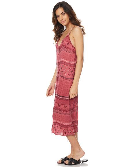 BLUSH WOMENS CLOTHING RUSTY DRESSES - DRL0838BSH