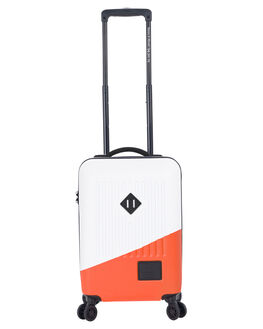 WHITE ORANGE MENS ACCESSORIES HERSCHEL SUPPLY CO BAGS + BACKPACKS - 10508-02251-OSWHOR