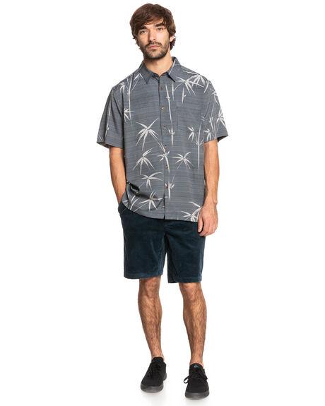 BLACK BAMBOO DREAMS MENS CLOTHING QUIKSILVER SHIRTS - EQMWT03389-KVJ6